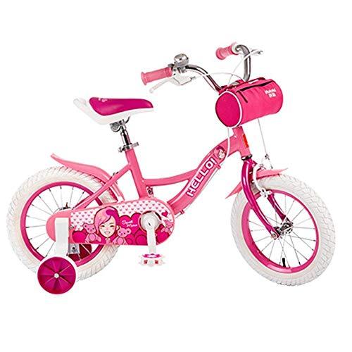 MYPNB Kinderfahrrad Kinderfahrrad mit DIY-Aufkleber for Kettenschutz, Kinder-Fahrrad mit Stützrad for Jungen und Mädchen (Size : 16in)