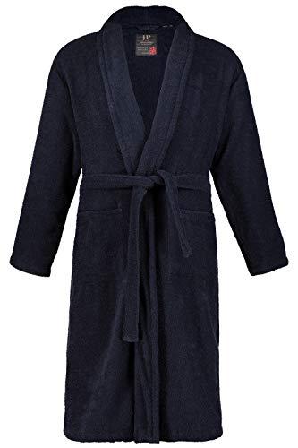 JP 1880 Homme Grandes Tailles Peignoir éponge col châle Tissu en Coton Bleu Marine XXL 702388 76-XXL