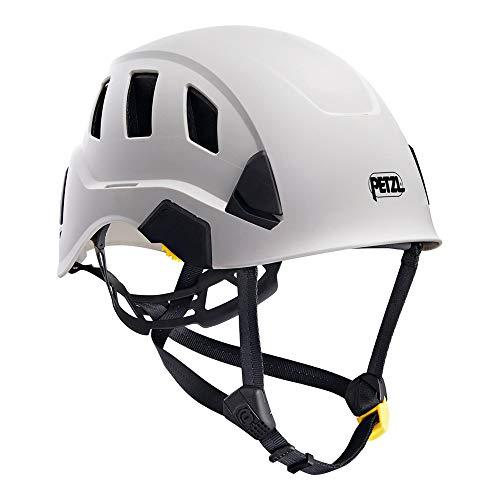 Petzl H43587 VENT Helm mit Dual-Kinnband und Belüftung, Weiß