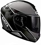 TORX, Casco da moto NEIL 2 TRIP BLACK : XXL uomo, Nero