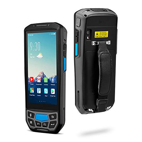 MUNBYN 3G 4G Rugged Handheld Android 8.1 POS Terminal with Touch Screen BT GPS and Honeywell Barcode Scanner for 1D 2D PDF417