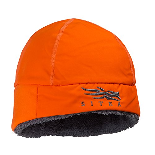 Sitka Ballistic Beanie, Blaze Orange One Size Fits All by Sitka Gear