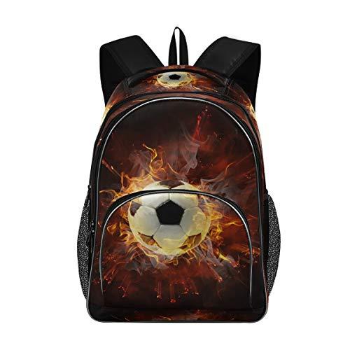 CaTaKu Sports Soocer American Football School Backpacks Travel Business Latops Bag Durable College Computer Shoulder Book Bag for Men Women.