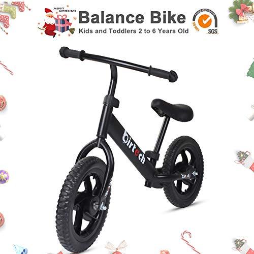 Laufrad Speedy – Das Verstellbare Lauflernrad – Kinderlaufrad Mit Reifengröße: 12Zoll – Stabiles & Sicheres Laufrad Ab 2 Jahren,Schwarz,OneSize