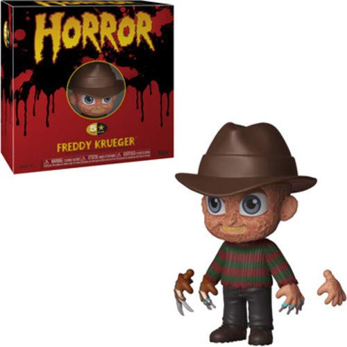 Funko- 5 Star: Horror: Freddy Krueger, Multicolor, 34010