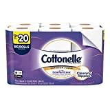 Cottonelle Ultra ComfortCare Soft Toilet Paper, 12 Big Rolls, Bath Tissue