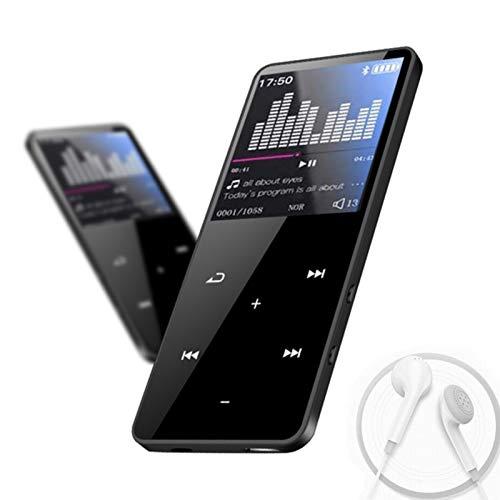 Touch-Screen MP4-Player mit Bluetooth, 16 GB MP3-Player mit Lautsprecher,...