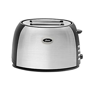 Oster 2-Slice Toaster, Brushed Stainless Steel (TSSTJC5BBK)