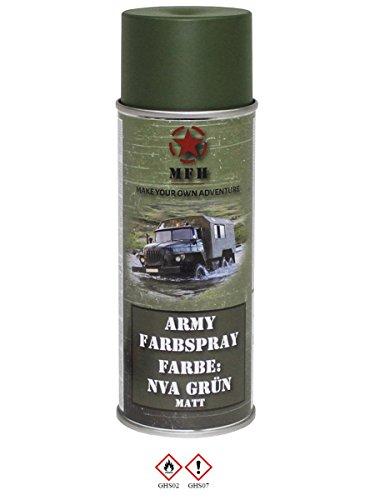 Militaire en spray NVA Vert Mat