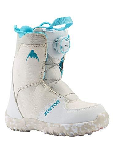 Burton Grom Boa Bottes de Snowboard Jeunesse Unisexe, White, 2K