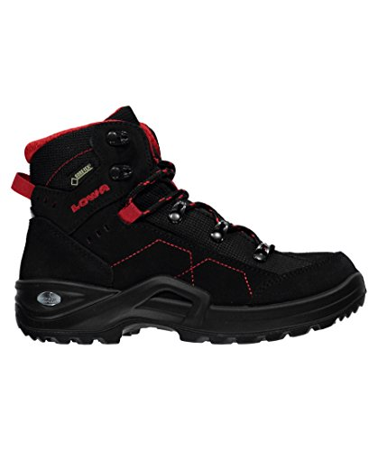 Lowa Kody III GTX Mid Junior black-red
