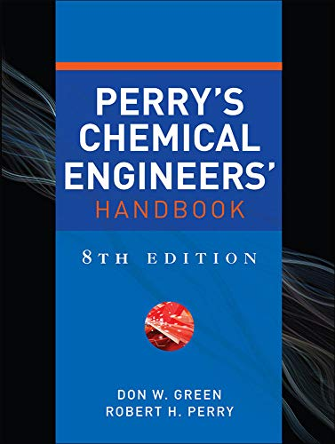 Perry's Chemical Engineers' Handbook, Eighth Edition [Lingua inglese]