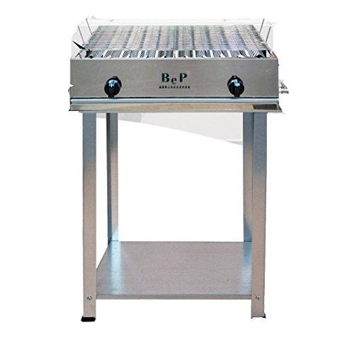 Barbecue Bep a gas acciaio inox 100% Made in Italy artigianale 2 FUOCHI