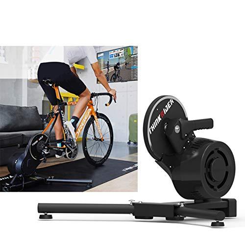 FANGX ThinkRiderX7 Rodillos De Entrenamiento Bicicleta De Realidad Virtual,Entrenamiento De Potencia para Montar En Rodillo,Compatible con PowerFun,ThinkRider, Onelap,Zwift,Etc,26'-29' MTB/700CRD