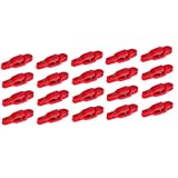 SM SunniMix 20 Pack Heavy Tension Snap Release Clip for Weight, Planer Board, Kite, Offshore Fishing Equipment Accessories, Color Optional - Red