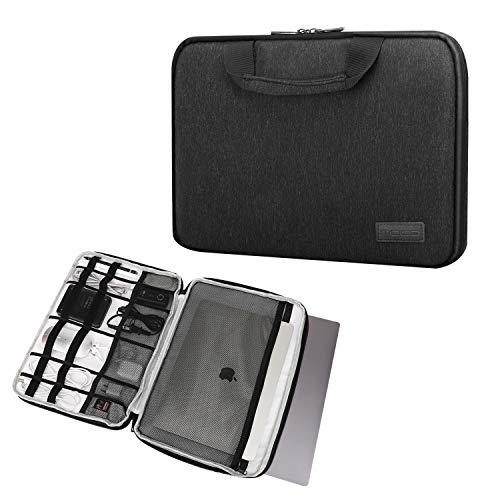 MoKo 15-15.6 Inch Laptop Hülle Elektronisches Zubehör Tasche Schutzhülle Sleeve Case Kompatibel mit 15