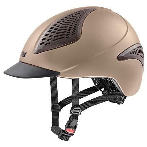 Uvex Riding Exxential II Riding Hat Medium/Large Sand Matt