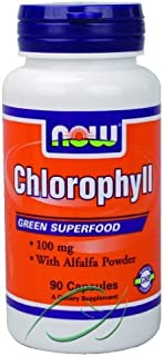 Chlorophyll 90 Capsules From NOW
