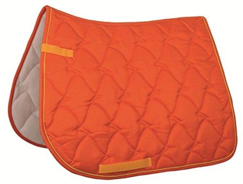 HKM Sports Equipment GmbH Sattel- und Zaumzeug Schabracke -Cassandra-, orange, Pony Dressur, 3438