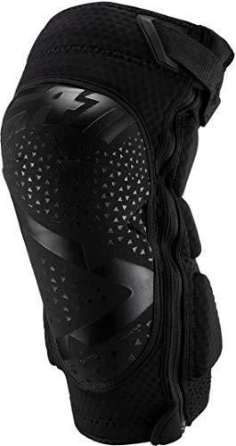 Leatt La 3df 5.0 Zip ist eine weiche und belüftete Kniebandage mit Reißverschluss. Sie ist für Mountainbikes geeignet. Knieschoner Unisex, Uni, 5019400502, Schwarz, XXL