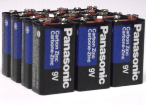 24 Pack Wholesale Lot Panasonic Super Heavy Duty 9V Batteries