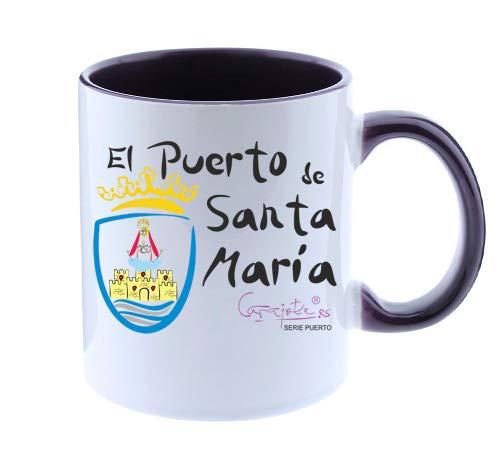 CARAJOTE Taza Serie Puerto Santa MARÍA Escudo Ciudad