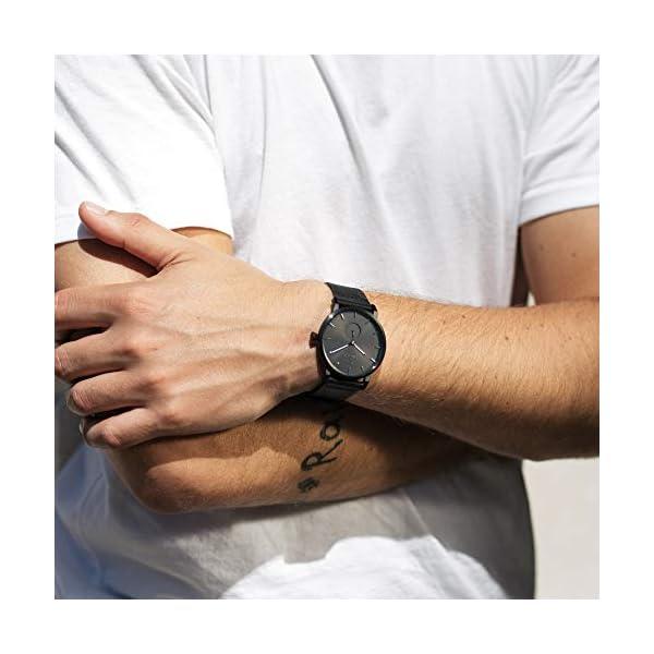 TRIWA Falken Men's Minimalist Dress Watch – Luxury Wrist Watches for Men, 38mm