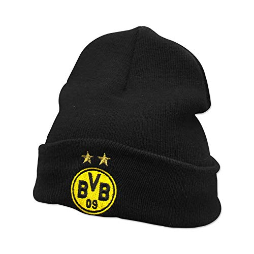 Borussia Dortmund BVB-Beanie (schwarz) one Size