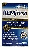 REMfresh 2mg Advanced Melatonin Sleep Aid Supplement (12 Caplets)   Drug-Free, Sleeping Pills to Support Restful, Natural Sleep   #1 Doctor Recommended   Pharmaceutical-Grade, Ultrapure Melatonin