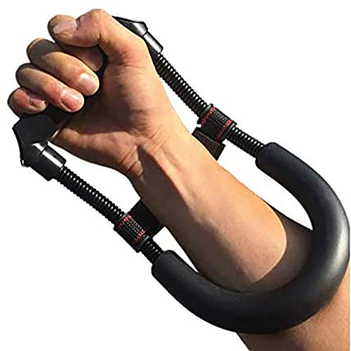Wrist Strength Training- Forearm Trainer with Adjustable Stabilizer Pad, Hand Strengthener for Arms and Wrists Workout.