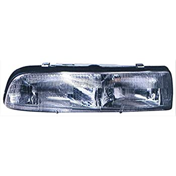 Unknown Partslink Number LX2503103 OE Replacement Lexus RX300 Passenger Side Headlight Assembly Composite