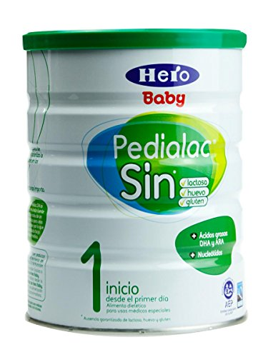 Hero Baby Pedialac Sin - Leche Sin Lactosa, 800 Gramos