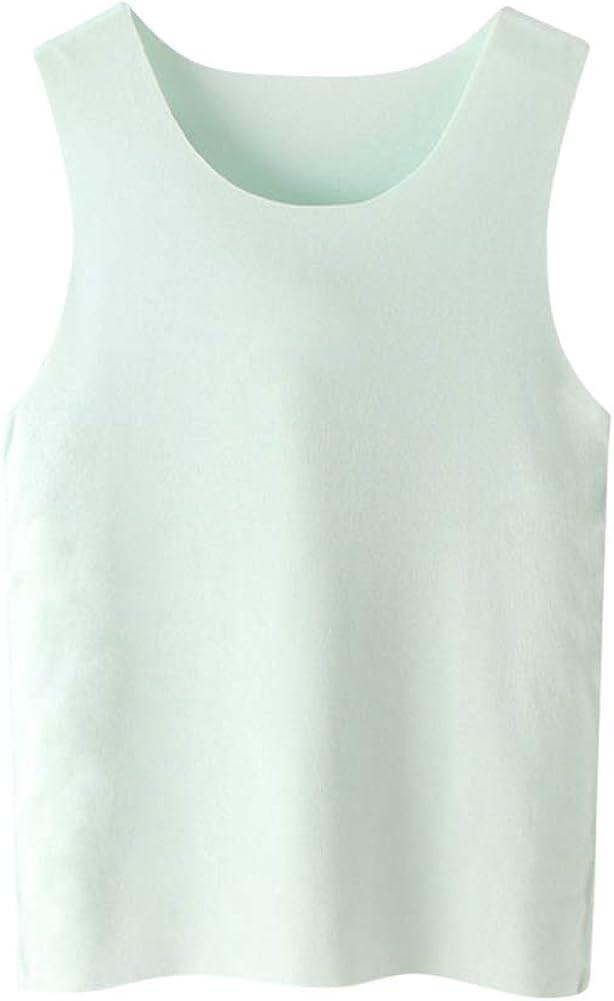Tortor 1Bacha Boys Girls Undershirts Solid Colors Soft Tank Tops