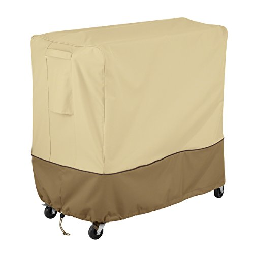 Classic Accessories Veranda Water-Resistant 80 Quart Patio Rolling Deck Cooler Cover