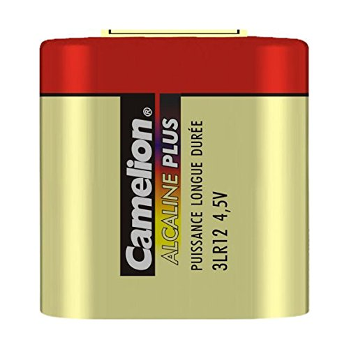 Camelion 11100112 Plus Alkaline Batterien 3LR12 Flachbatterie/ 4,5 Volt/ 1 Stück Schrumpfverpackung
