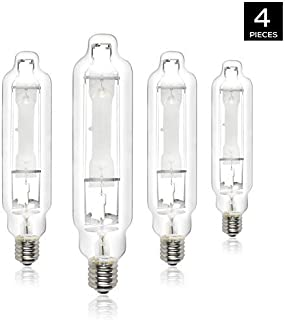 iPower 4-pack 1000 Watt Vegetative Metal Halide MH Conversion Grow Light Lamp Bulb 6000K