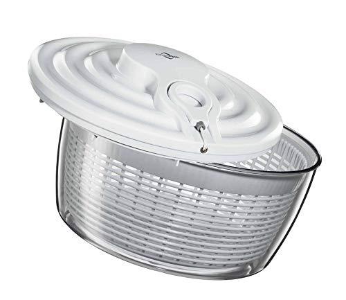 Küchenprofi 1370072200 - Centrifugador de lechugas, 5 l, 27 centímetros, color blanco