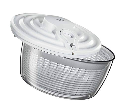 Küchenprofi Salatschleuder MAXI, Kunststoff, weiß