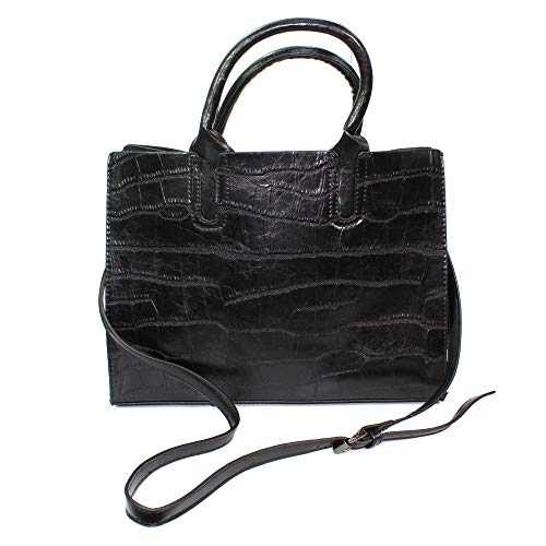 Lunar Croc Two In One Tote Bag Black