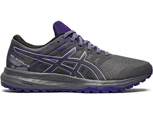 ASICS Women's Gel-Scram 5 Trail Running Shoes, 8.5M, Metropolis/Gentry Purple