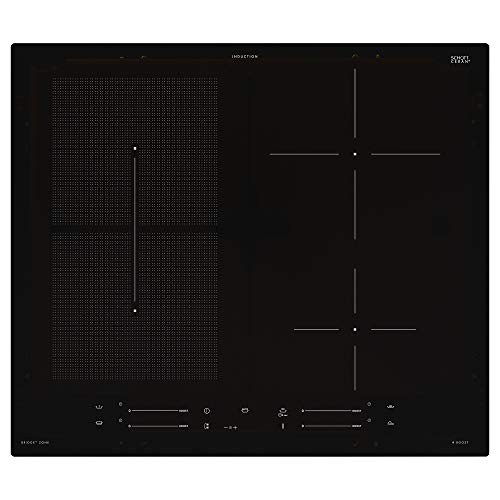 SMAKLIG Induktionskochfeld 59x51x5,4cm IKEA 500 schwarz