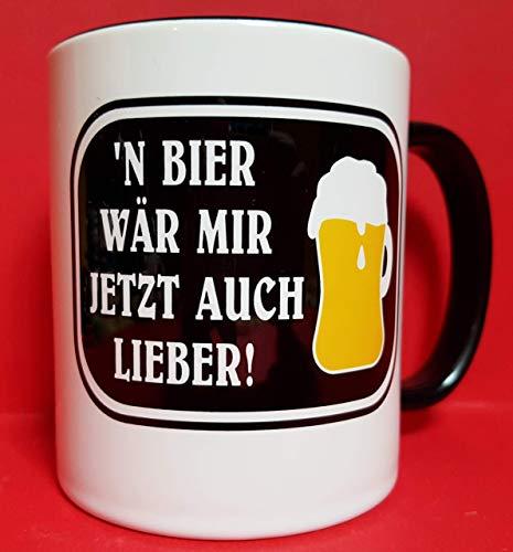 Bier Geschenk Tasse, Lustiger Bier Spruch, Einzigartige Männer Geschenke, Biertrinker Kaffeetasse, Keramik-Becher