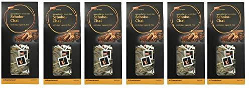 tegut... vom Feinsten Schoko-Chai Teebeutel, 6er Pack (6 x 45 g)