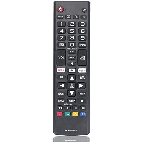 Universal AKB75095307 Remote Control for LG Smart TV Remote All LG LCD LED 3D HDTV Smart TVs