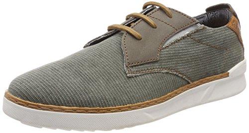 Daniel Hechter 8.11369E+11, Sneakers Basses Homme, Vert (Dark Green 7100), 42 EU