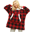Pull Plaid | Sweat Confortable et Cosy