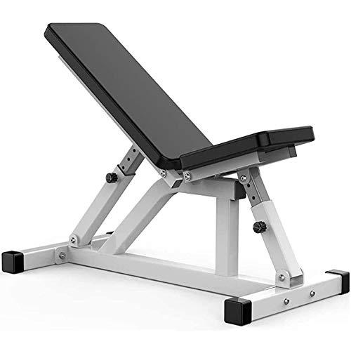 Multifunktions Trainingsbank,Zusammenklappbare Hantelbank,Verstellbare Gewichtebänke,Fitnessgerät für Ganzkörpertraining,Maximale Belastung 300 Kg(Luftfracht)
