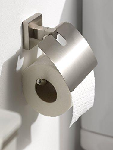 Haceka 28134510 Mezzo Tec Dérouleur papier WC avec couvercle