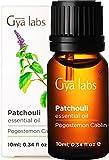 Ätherisches Patchouli-Öl von Gya Labs - Mood Balancer Raumduft für Entspannung und Geschmeidige Haut (10ml) - 100% Reines Patchouli-Öl - Ätherische Öle für Aroma Diffuser und Äußerliche Anwendung