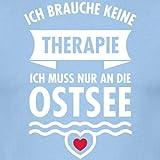 Ostsee statt Therapie Spruch Männer T-Shirt von Spreadshirt® - 2